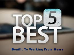 working from home top benifits