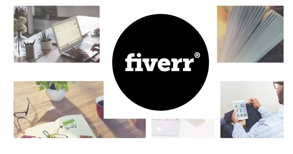 Work from home with fiverr