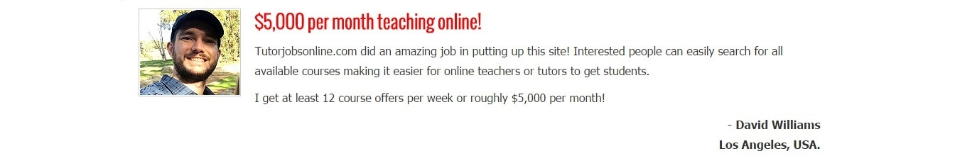 work from home teacher jobs